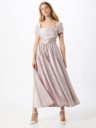 Rochie de seară SWING pe roz, Vizualizare model