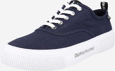 Calvin Klein Jeans Trampki niskie w kolorze ciemny niebieski / czarnym, Podgląd produktu