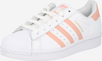 Sneaker low 'Superstar' de la ADIDAS ORIGINALS pe alb