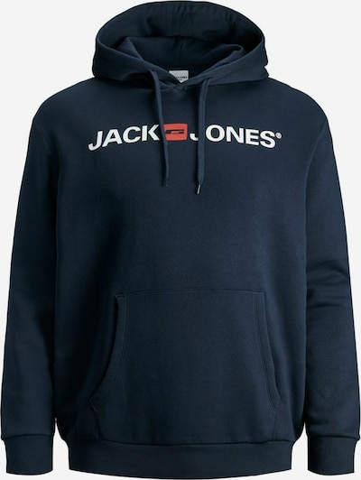 Jack & Jones Plus Sweatshirt 'Corp Old' in marine / red / white, Item view