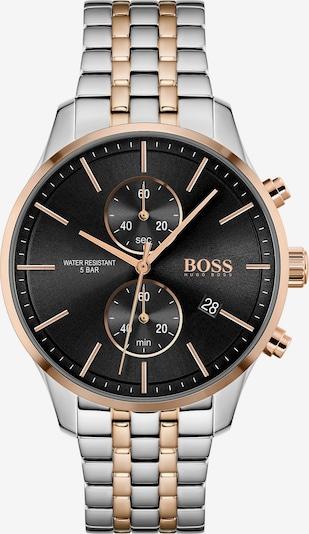 BOSS Casual Uhr 'ASSOCIATE' in gold / schwarz / silber, Produktansicht