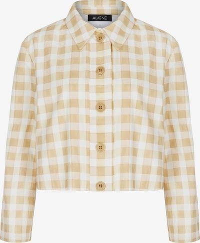 Aligne Blazer 'Chyna' en dorado / blanco, Vista del producto