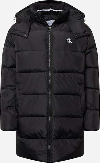 Geacă de iarnă Calvin Klein Jeans pe negru / alb, Vizualizare produs