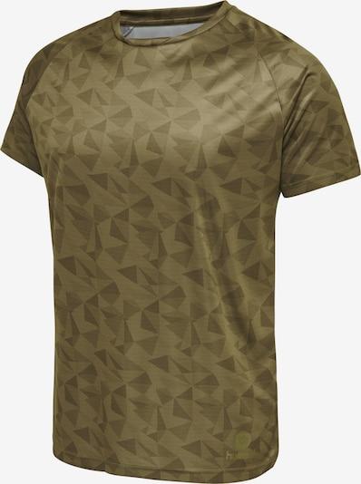 Hummel Jersey S/S in grün: Frontalansicht