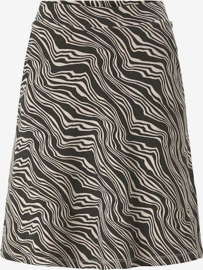 TOM TAILOR Jupe en noir / blanc, Vue avec produit