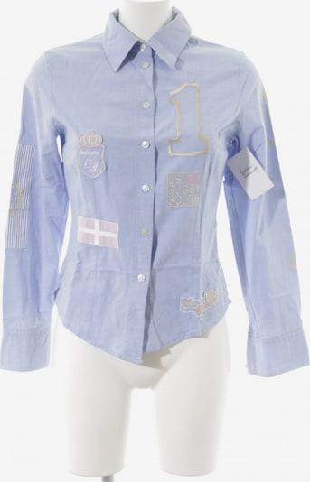 Lodenfrey Hemd-Bluse in S in himmelblau / gold / pastellpink, Produktansicht