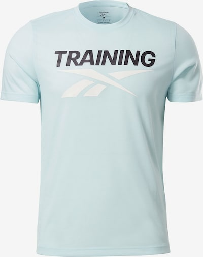 Reebok Classic Shirt ' Reebok Training Vector T-Shirt ' in de kleur Lichtblauw, Productweergave