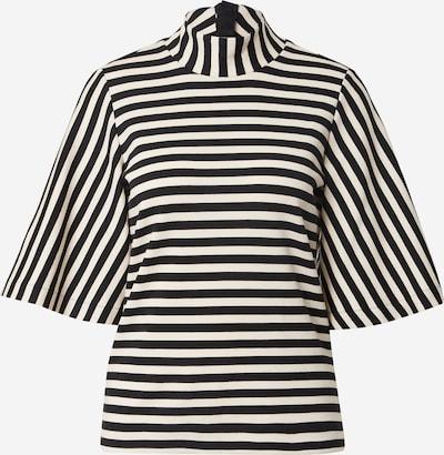InWear Блуза 'Hubert' в черно / бяло, Преглед на продукта