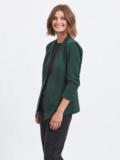 VILA Μπλέιζερ 'Her' σε σκούρο πράσινο, Άποψη μοντέλου