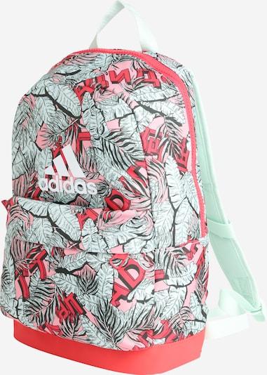 ADIDAS PERFORMANCE Sportrucksack in mint / rosa / rot, Produktansicht