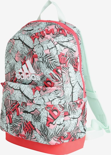 ADIDAS PERFORMANCE Rucksack in mint / rosa / rot, Produktansicht