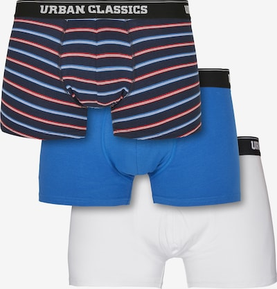 Urban Classics Μποξεράκι σε ναυτικό μπλε / μπλε νύχτας / μπλε ουρανού / κόκκινο / φυσικό λευκό, Άποψη προϊόντος