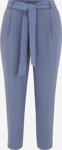 Forever New Petite Plisované nohavice 'Penny' - Modrá