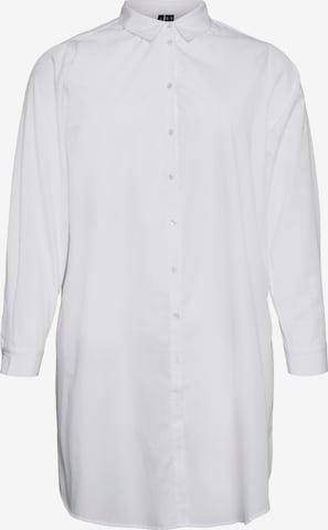 Vero Moda Curve Bluse 'Ewa' in Weiß