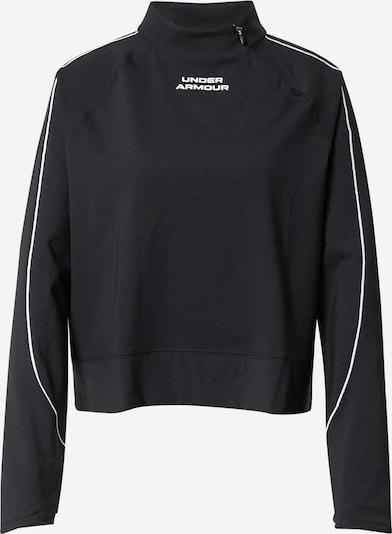 UNDER ARMOUR Funktionsshirt en noir / blanc, Vue avec produit