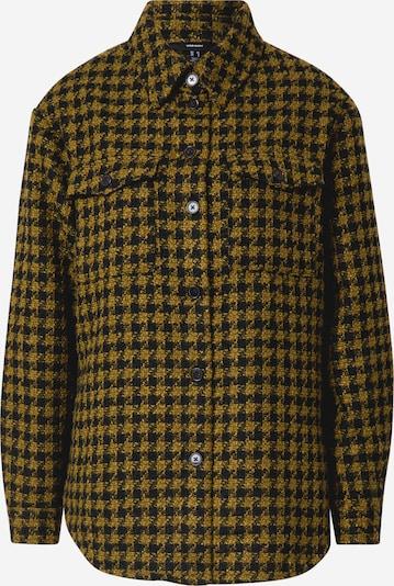 VERO MODA Hemdjacke in gelb / schwarz, Produktansicht