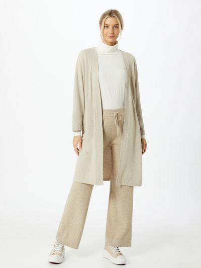 ONLY Cardigan 'Diana' en crème, Vue avec modèle