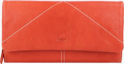 GREENBURRY Portemonnaie 'Tumble Nappa' in orange, Produktansicht