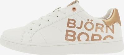 BJÖRN BORG Sneakers laag 'T305 LGO' in de kleur Goud / Wit, Productweergave