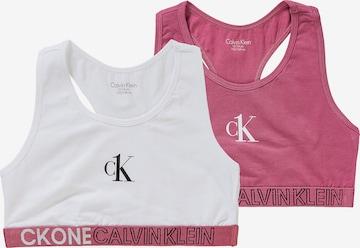 Calvin Klein Underwear Rinnahoidja, värv valge