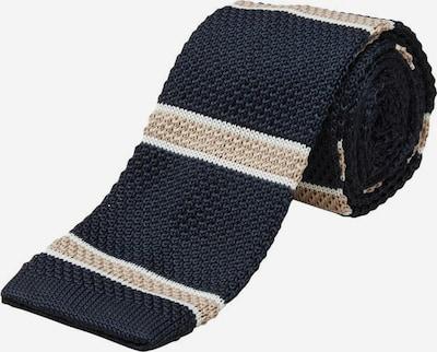 SELECTED HOMME Cravate en beige / bleu, Vue avec produit
