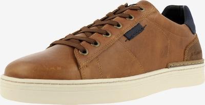 BULLBOXER Sneaker in navy / cognac / sepia, Produktansicht
