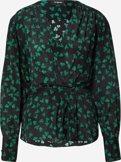 The Kooples Blouse in Dark green / Black, Item view