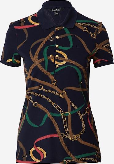 Tricou Lauren Ralph Lauren pe albastru închis / culori mixte, Vizualizare produs