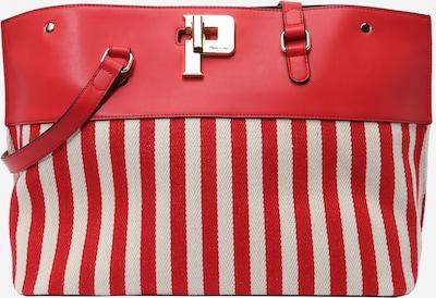 POLLINI Tasche in ecru / rot, Produktansicht