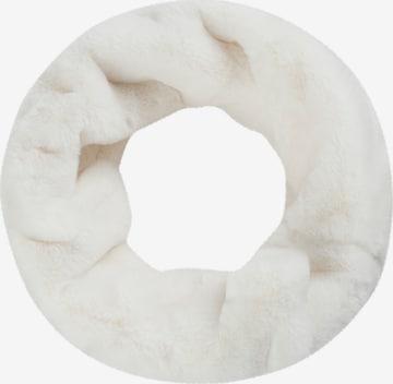 CODELLO Tube Scarf in White