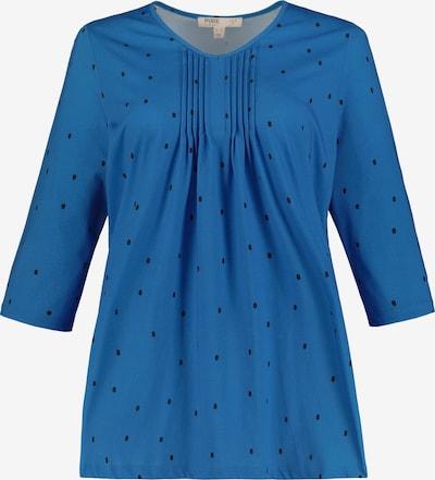 Ulla Popken Shirt in blau, Produktansicht