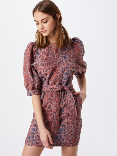 Rochie 'Celestina' Samsoe Samsoe pe albastru fum / roz, Vizualizare model