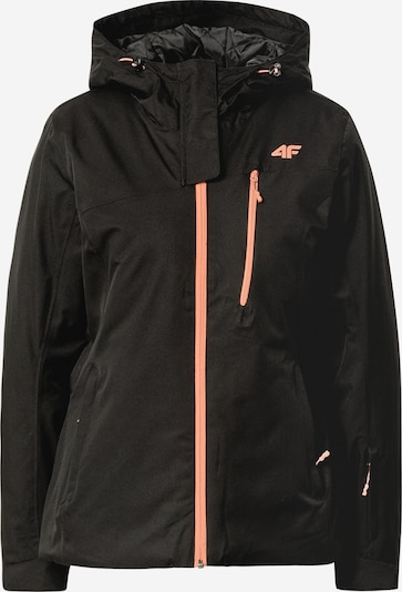 4F Outdoor jacket in apricot / black, Item view