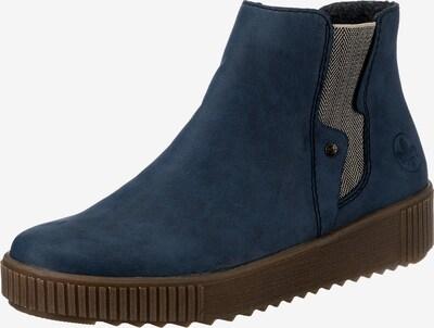 RIEKER Stiefelette in dunkelblau / grau, Produktansicht