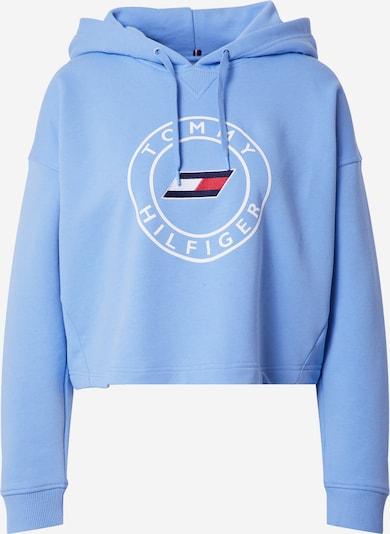 Hanorac sport Tommy Sport pe bleumarin / albastru deschis / roșu / alb, Vizualizare produs