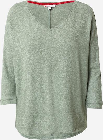 STREET ONE Shirt 'Ellen' in grünmeliert, Produktansicht