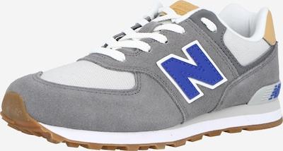 Sneaker new balance di colore camello / blu / grigio / bianco, Visualizzazione prodotti