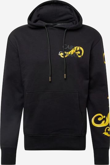 Bluză de molton Carlo Colucci pe galben / negru, Vizualizare produs