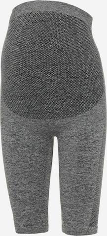 MAMALICIOUS Leggings 'Posh' in Grey