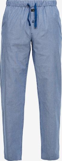 s.Oliver Pyjamahose in blau / weiß, Produktansicht