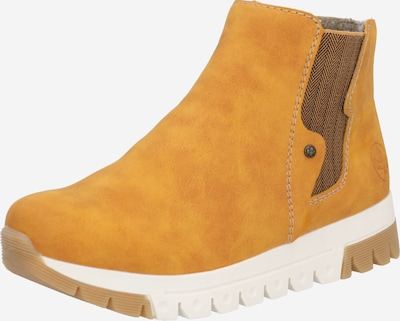 RIEKER Ankle boots in brown / ochre, Item view