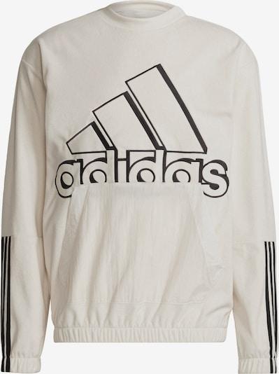 ADIDAS PERFORMANCE Sportsweatshirt in de kleur Zwart / Wolwit, Productweergave
