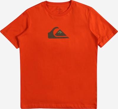 Tricou funcțional QUIKSILVER pe verde / portocaliu / negru, Vizualizare produs