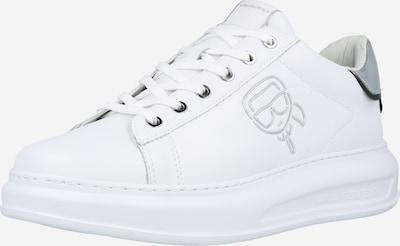Sneaker low Karl Lagerfeld pe argintiu / alb, Vizualizare produs