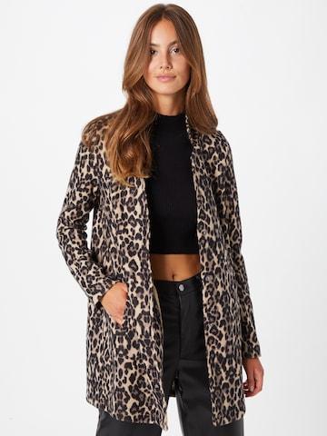 VERO MODA Prechodný kabát 'Katrine' - Hnedá