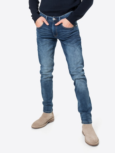 Q/S designed by Jeans in blue denim, View model