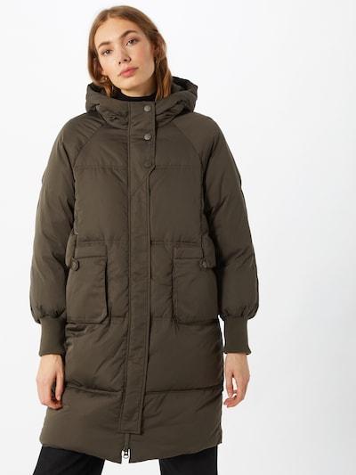 Y.A.S Abrigo de invierno 'Solea' en oliva, Vista del modelo