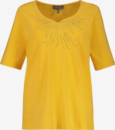 Ulla Popken Shirt in gelb: Frontalansicht