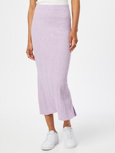 Cotton On Jupe en violet chiné: Vue de face