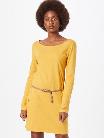 Ragwear Dress 'TALONA' in Yellow